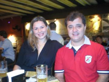 Accacio e Tatiana Barrozo